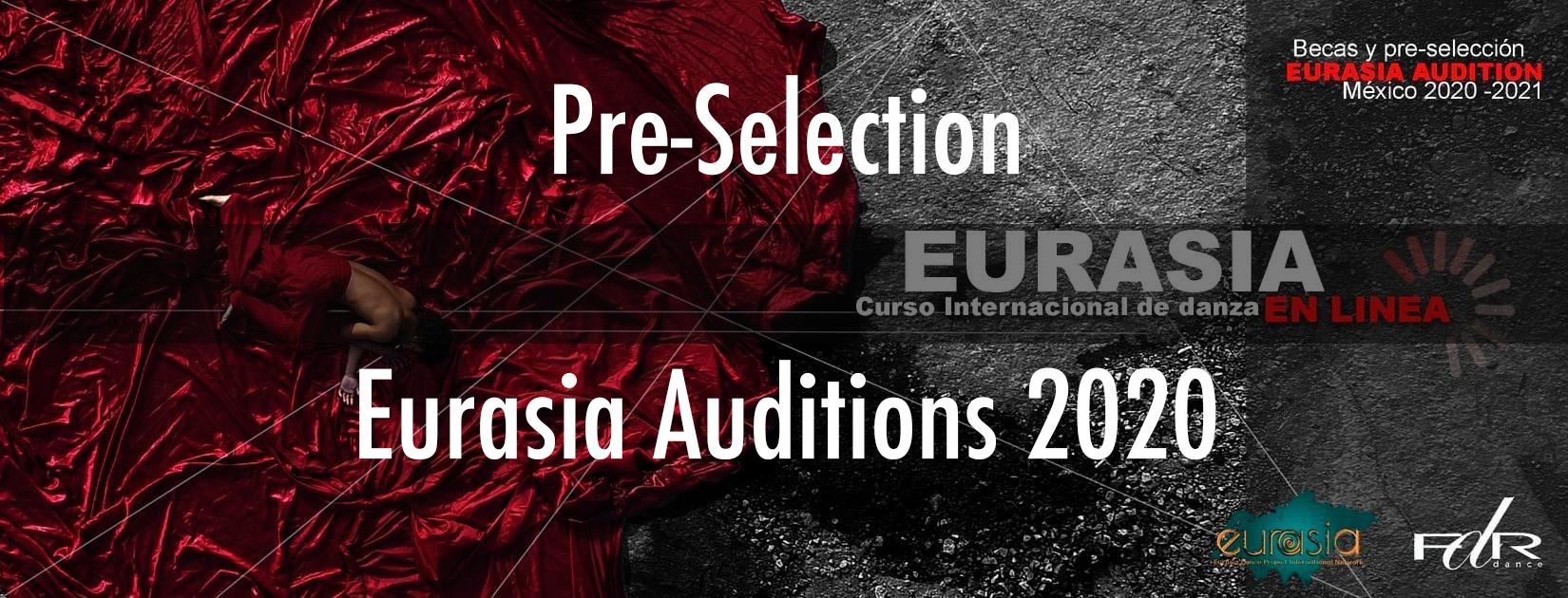 EurAsia - Mexico pre-selection 2020