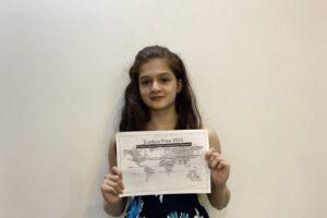 EurAsia Student- Tavishi Pownikar (India)