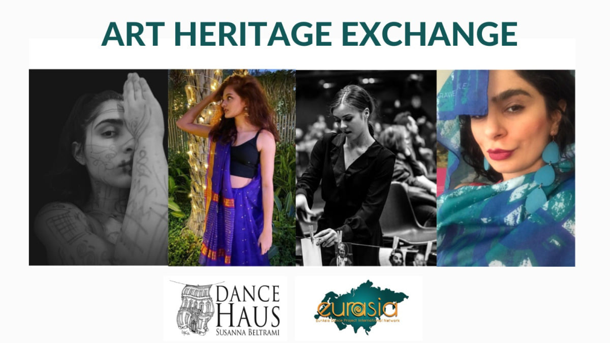 The Dance Blog DanceHaus Review directed by Lorenzo Conti interviewed some of the EurAsia Students part of EurAsia Dance Project International Network and of the online project Art Heritage Exchange.