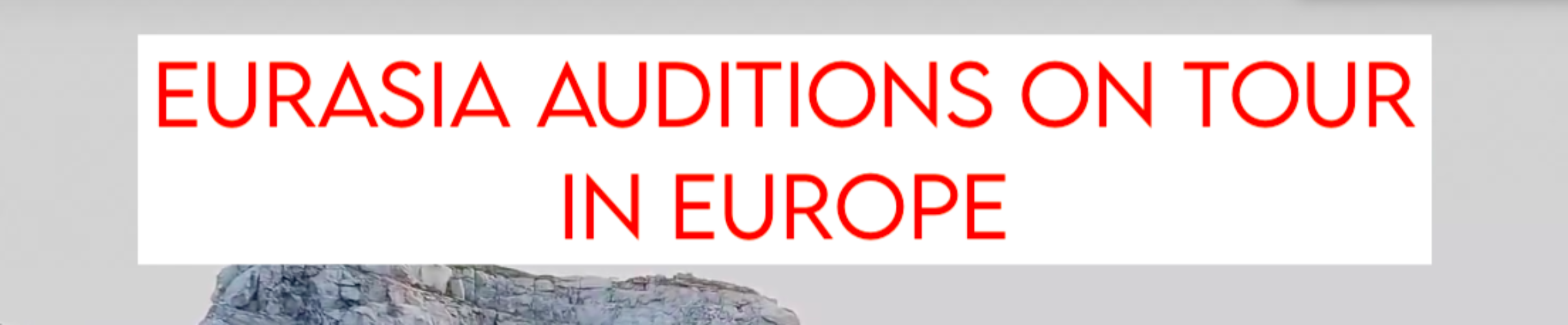 EurAsia Auditions Europe