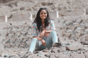 Tejaswini Loundo, Manager of the group Here´s Your Chance